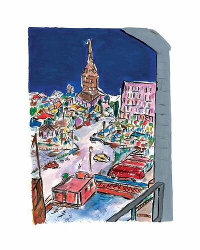 Bob Dylan, 'Bell Tower In Stockholm - 2013', 2013