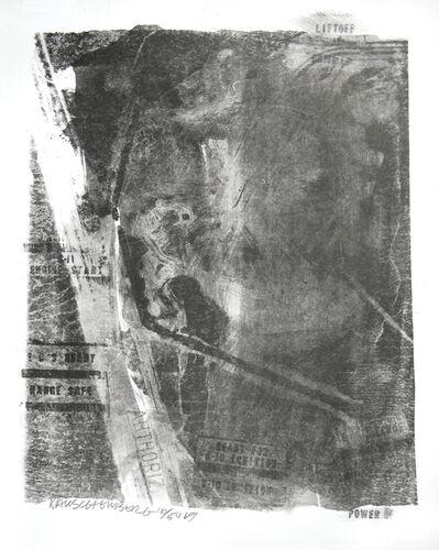 Robert Rauschenberg, 'Rack, Stoned Moon Series', 1969