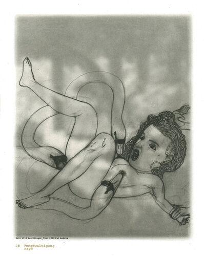 Pat Andrea, 'Klinger suite (08 Rape)', 2012