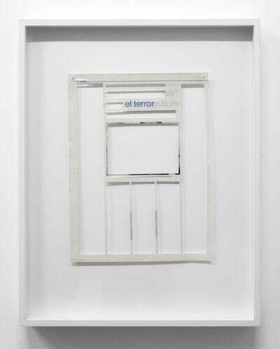 Jorge Macchi, 'el terror', 2020