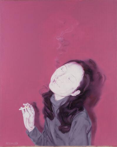 He Sen, 'Smoking girl No 4', 2002