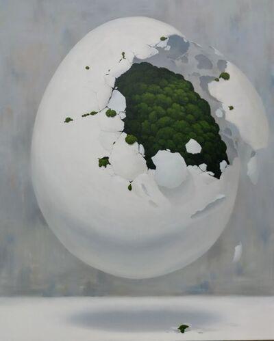 Jong Yong YANG, 'Egg Moss ', 2019