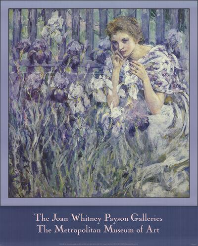 Robert Lewis Reid, 'Fleur de Lis', 1986