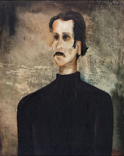 Anjolie Ela Menon, 'Untitled (Portrait of Henry Daniel, Art Master, Lawrence School, Lovedale)', 1972