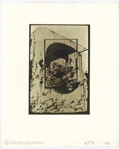 Robert Rauschenberg, 'White Pendulum', 1980