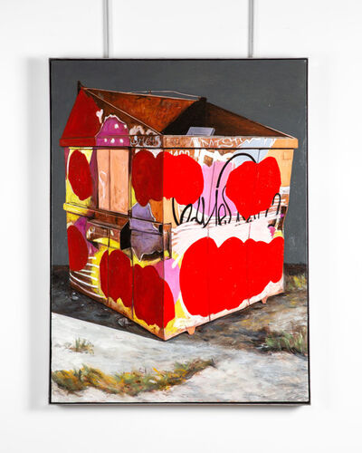 Matthew Belval, 'Red Trash', 2020