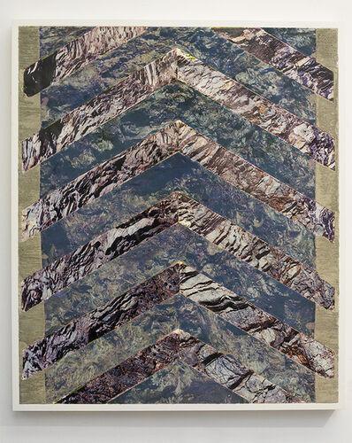 Letha Wilson, 'California Hawaii Concrete (Bent Lines) ', 2014