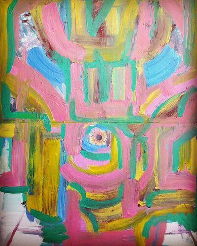 Pasturo, 'eyed painting', 2019