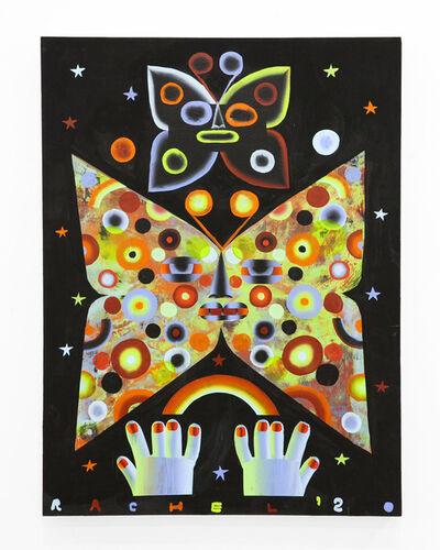 """Rachel Hayden, '""""Two Spotted Moths""""', 2020"""