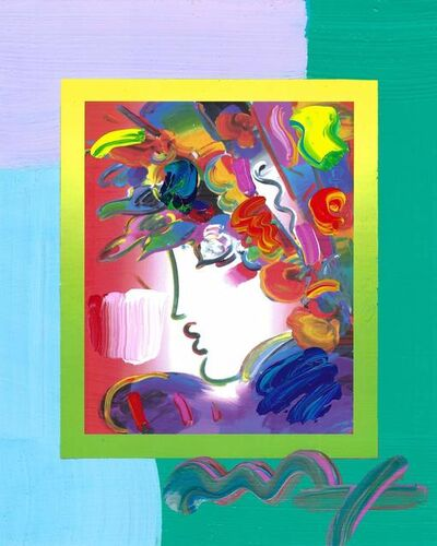 Peter Max, 'Blushing Beauty on Blends (Ref. # 2274)', 2007