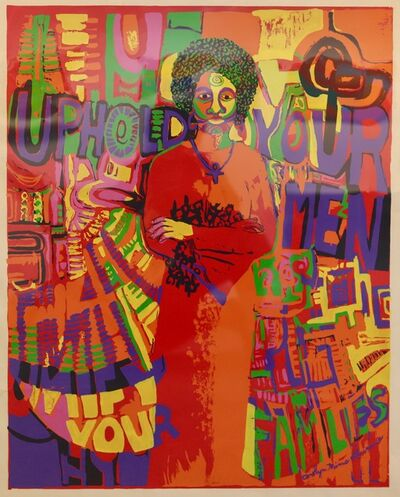 Carolyn Mims Lawrence, 'Uphold Your Men', 1971