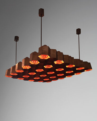 Ilmari Tapiovaara, 'Ceiling lamp designed by Ilmari Tapiovaara,  Finland.  ', 1955