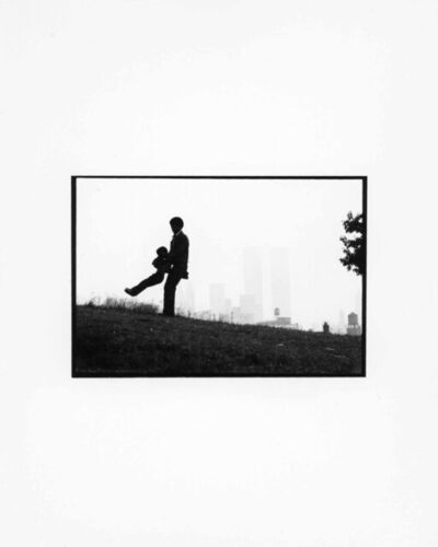Chester Higgins, Jr., 'Father swinging son, Brooklyn', 1972