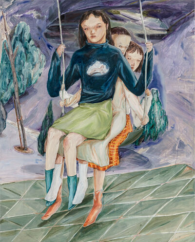 Wang Guan-Jhen, 'One and Only Swing at the Park', 2019