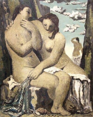 Jean Souverbie, 'Les Baigneuses', ca. 1942