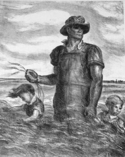 John Steuart Curry, 'Our Good Earth ', 1942