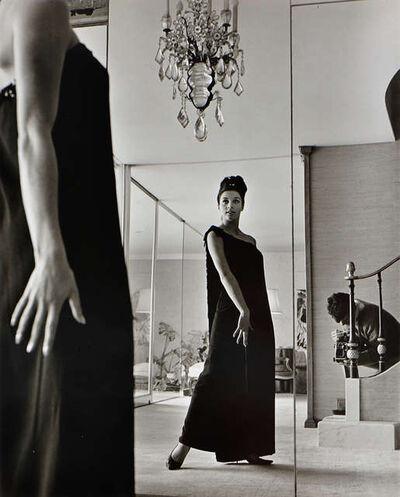 Rodrigo Moya, 'Autorretrato con modelo', 1966
