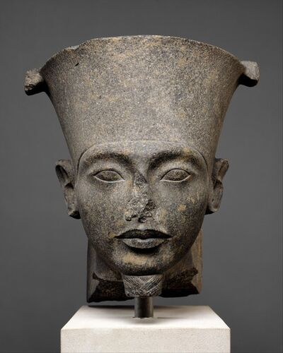 Unknown Egyptian, 'Head of the god Amun', ca. 1336–1327 B.C.