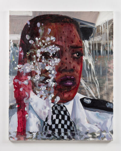 Dawn Mellor, 'Police Constable Yvonne Hemmingway (Michele Austin)', 2016