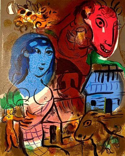 Marc Chagall, 'Hommage à Marc Chagall', 1969