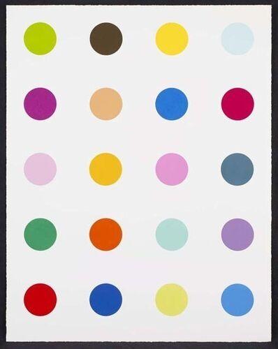 Damien Hirst, 'Guaiazulene - 3 inch spots', 2010