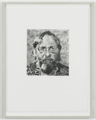 Chuck Close, 'John I', 1990