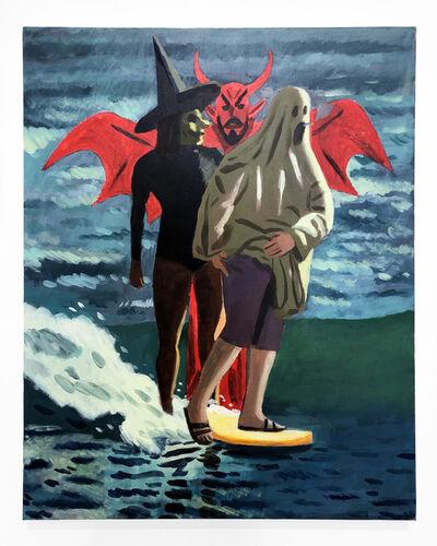 Woodrow White, 'Surfs Up', 2019