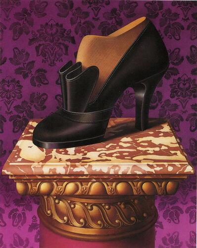 Shimon Okshteyn, 'Black Shoe', 1992
