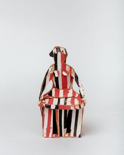 Ann Agee, 'Circus Madonna, Salt Cellar', 2019