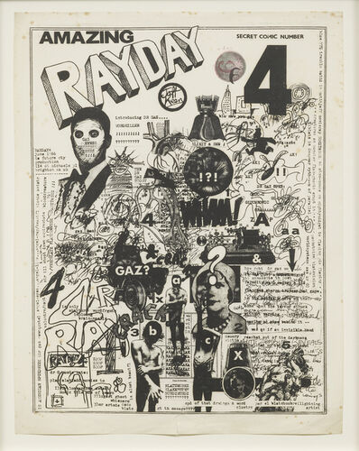 Jeff Keen, 'Secret Comic Number 4', 1966