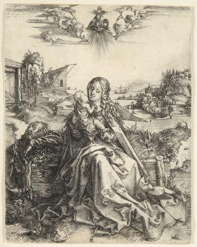 Albrecht Dürer, 'The Virgin with the Dragonfly', 1495