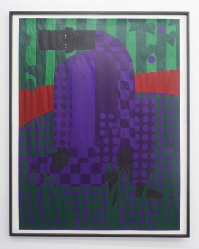 Jon Key, 'Man in the Violet Dreamscape No. 5 ', 2019