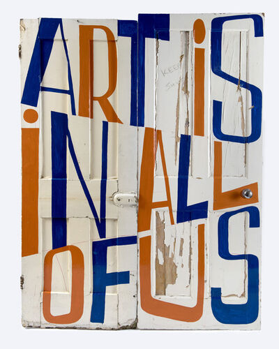 Bob and Roberta Smith, 'Art is in All of Us', 2019