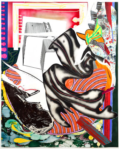 Frank Stella, 'Moby Dick from The Waves, Unique Color Trial Proof', 1989