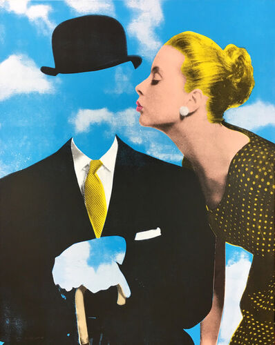 Joe Webb, 'Kissing Magritte ', 2018