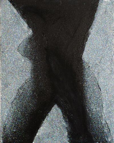Natasha Wright, 'Power Woman Silhouette (Glitter)', 2019