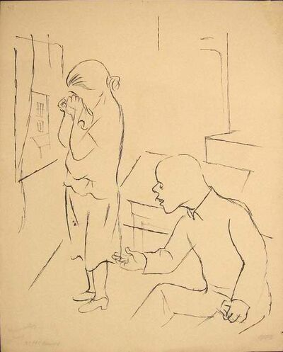 George Grosz, 'Without Results', 1925