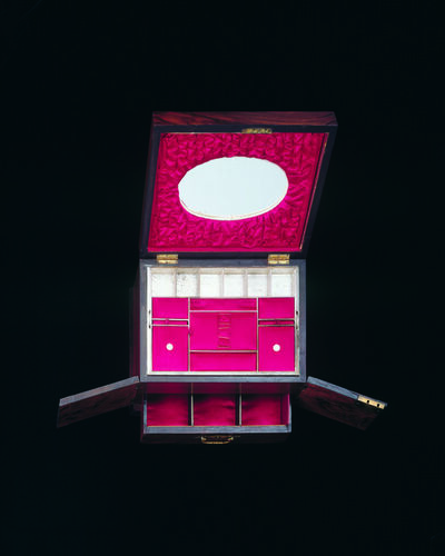 Jacky Redgate, 'Life of the System #7 Sewing box with red interior ', 1998
