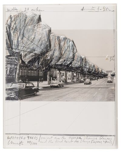 Christo and Jeanne-Claude, 'Five Urban Project', 1985