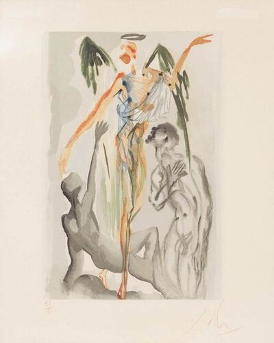 Salvador Dalí, 'Purgatory Canto 31 (See F. P. 192)', 1963