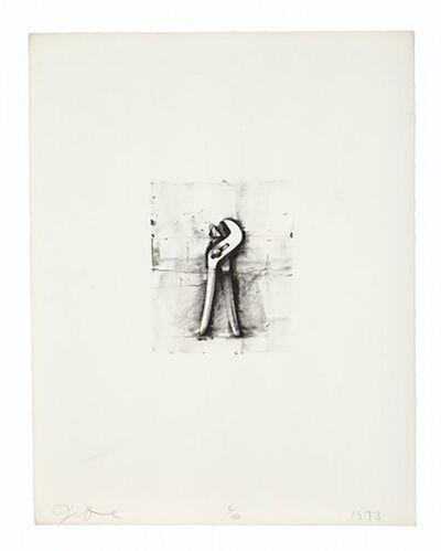 Jim Dine, 'Adjustable Wrench', 1973