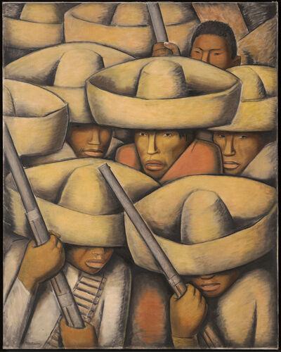 Alfredo Ramos Martínez, 'Zapatistas', ca. 1932