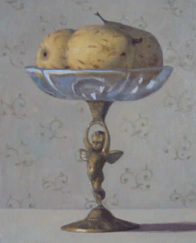 Olga Antonova, 'Pears on putto', 2021