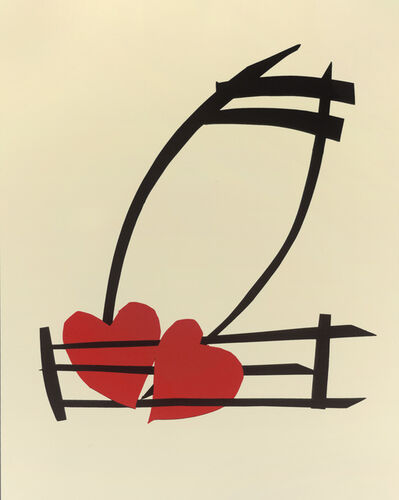 Claes Oldenburg, 'Musical Hearts', 2012