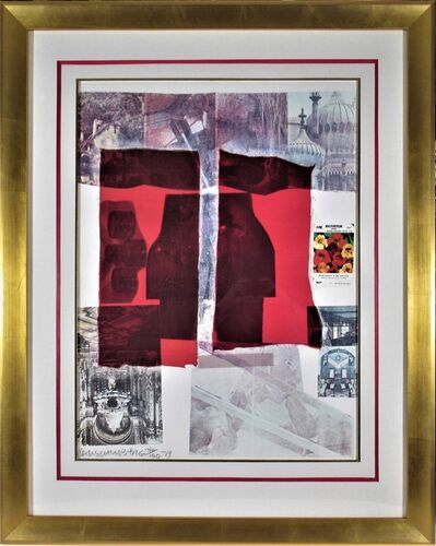 """Robert Rauschenberg, '""""Why You Can Tell #2"""" from the suite """"Nine Prints""""', 1979"""