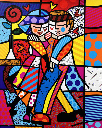 Romero Britto, 'New Cheek to Cheek', 2016
