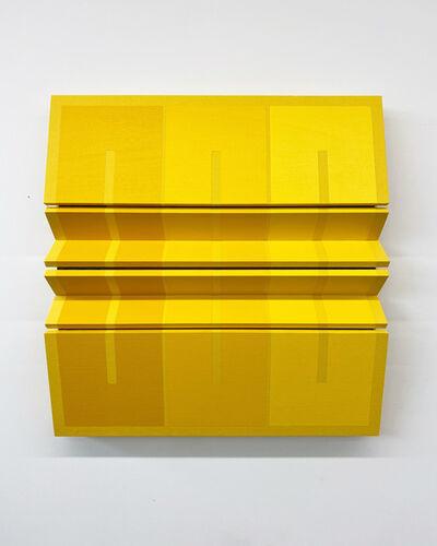 Robert William Moreland, 'Untitled Three Yellow Rectangles', 2020