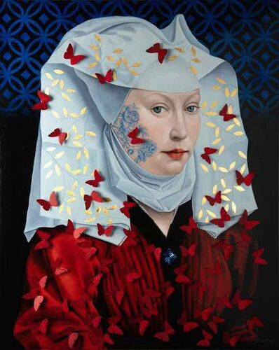 Serge Déry, 'Woman With Winged Bonnet', 2019