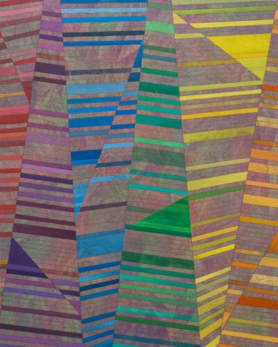 Adam Benjamin Fung, 'Folded Spectrum, Refracted Rainbow', 2016