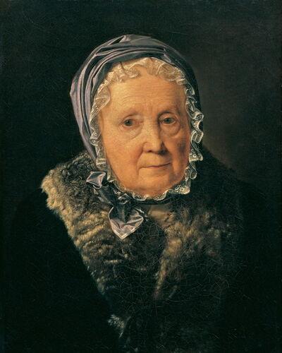 Ferdinand Georg Waldmüller, 'Rosina Wieser, aged 83', 1820